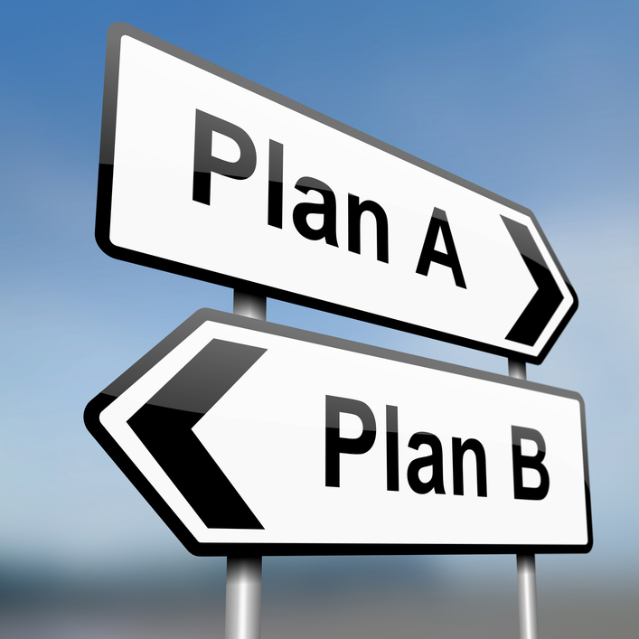 NO BACK-UP PLAN:  The