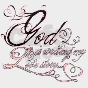 GOD writing