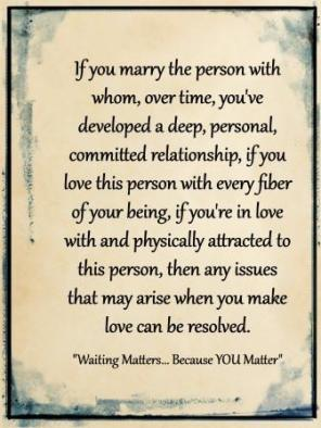 if you marry...